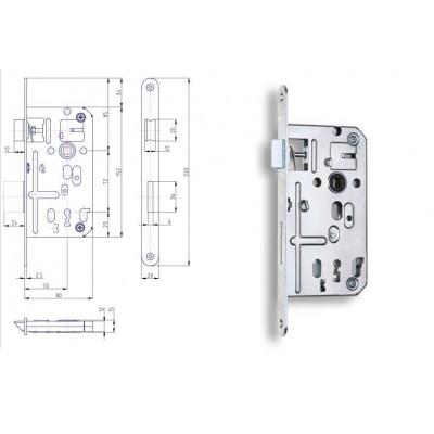 K134 P-L 80/50/72 obyčajný kľúč