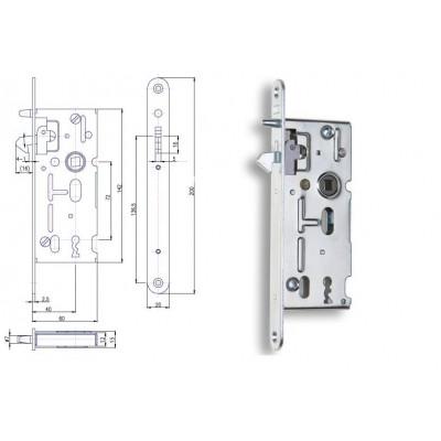 K106 P-L 60/40/72 s hákom obyčajný kľúč