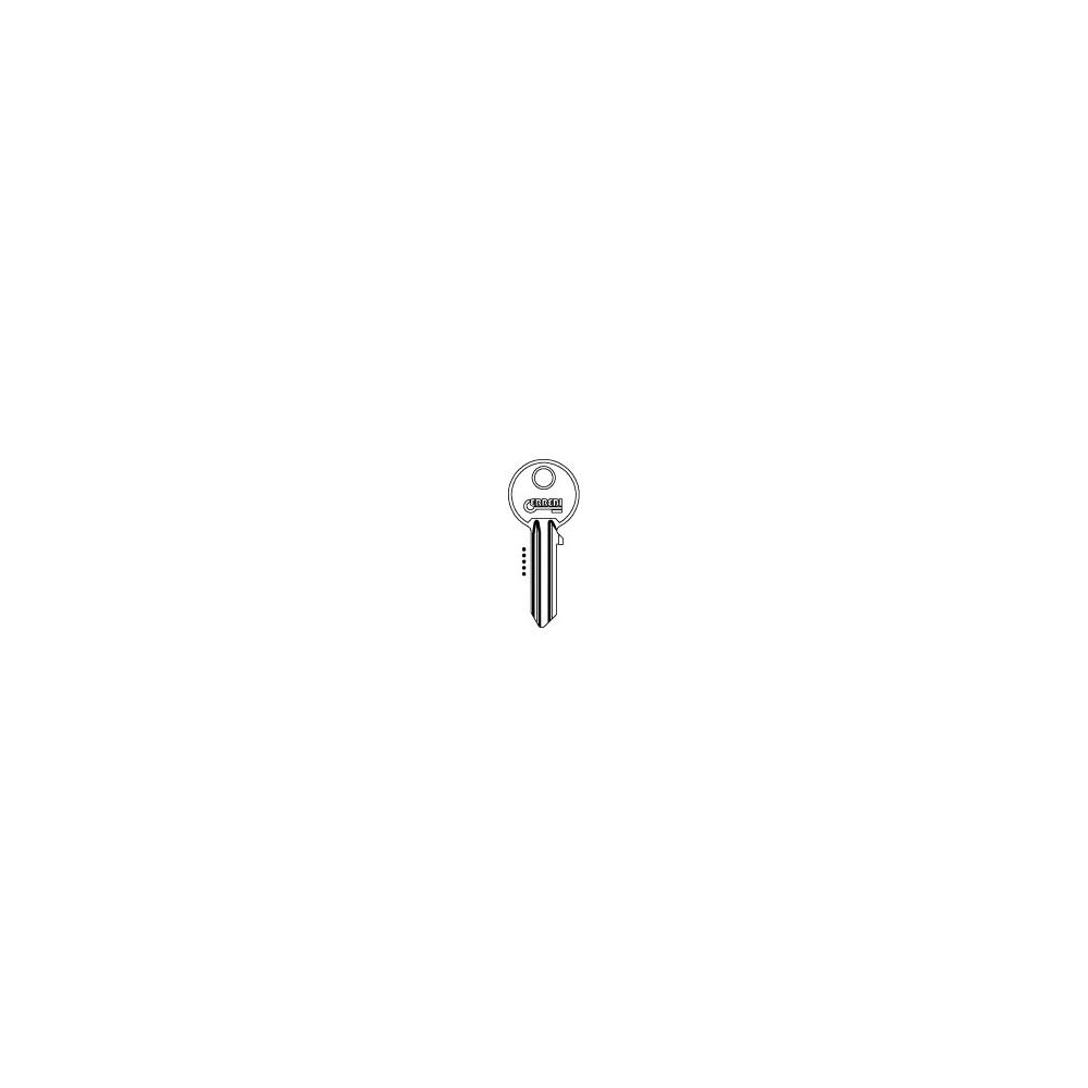 Kľúč WINKHAUS ELZETT ISEO