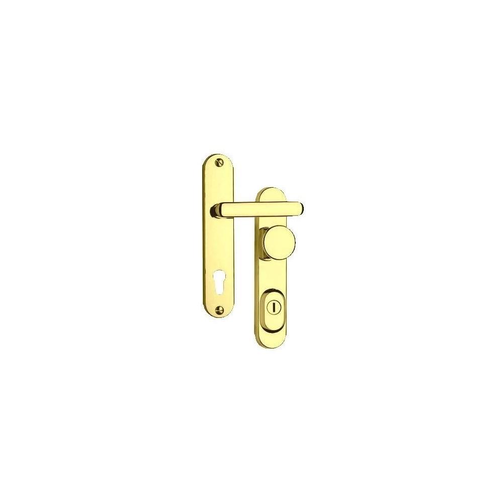 R4/72/O/Titan Zlatá bezpečnostné kovanie K+K