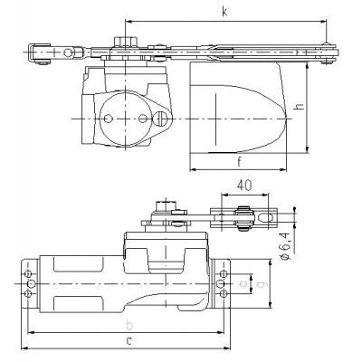 Samozatvárač BRANO K-214 11