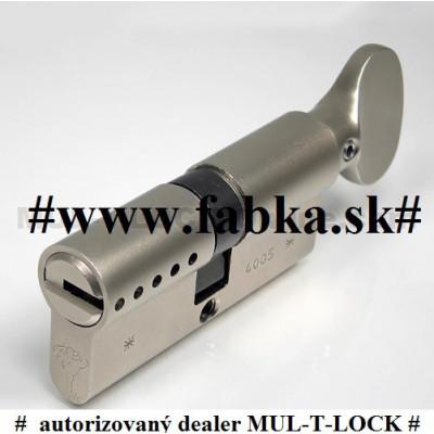 MUL-T-LOCK MT5+ bezpečnostná vložka s olivkou