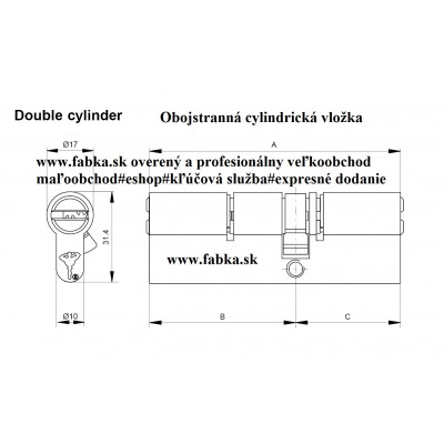 MUL-T-LOCK INTERACTIVE 206+ bezpečnostná vložka s olivkou