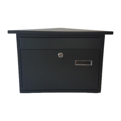 Poštová schránka ZIPFER VEĽKÁ čierná NO9 TX0028