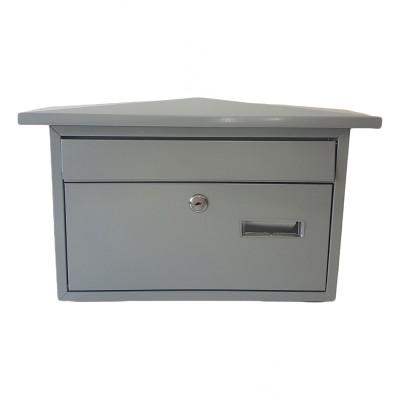 Poštová schránka ZIPFER VEĽKÁ strieborná NO9 TX0028
