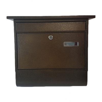 Poštová schránka ZIPFER VEĽKÁ s trubicou medená TX0028