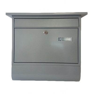 Poštová schránka ZIPFER VEĽKÁ s trubicou šedá TX0028