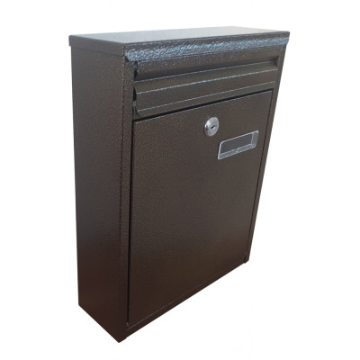 Poštová schránka NS NO.1 hnedá TX0023