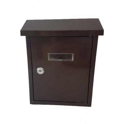Poštová schránka MINI hnedá NO.6