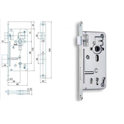 536 P-L 80/80/90 na obyčajný kľúč