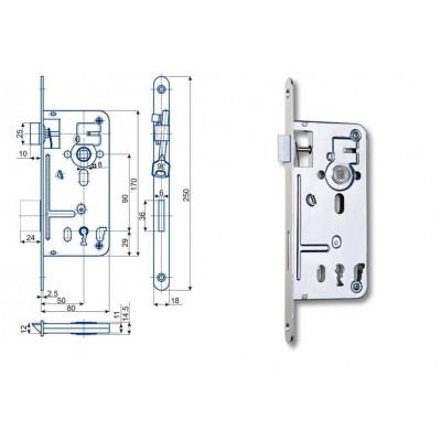 537C P-L 80/80/90 na obyčajný kľúč