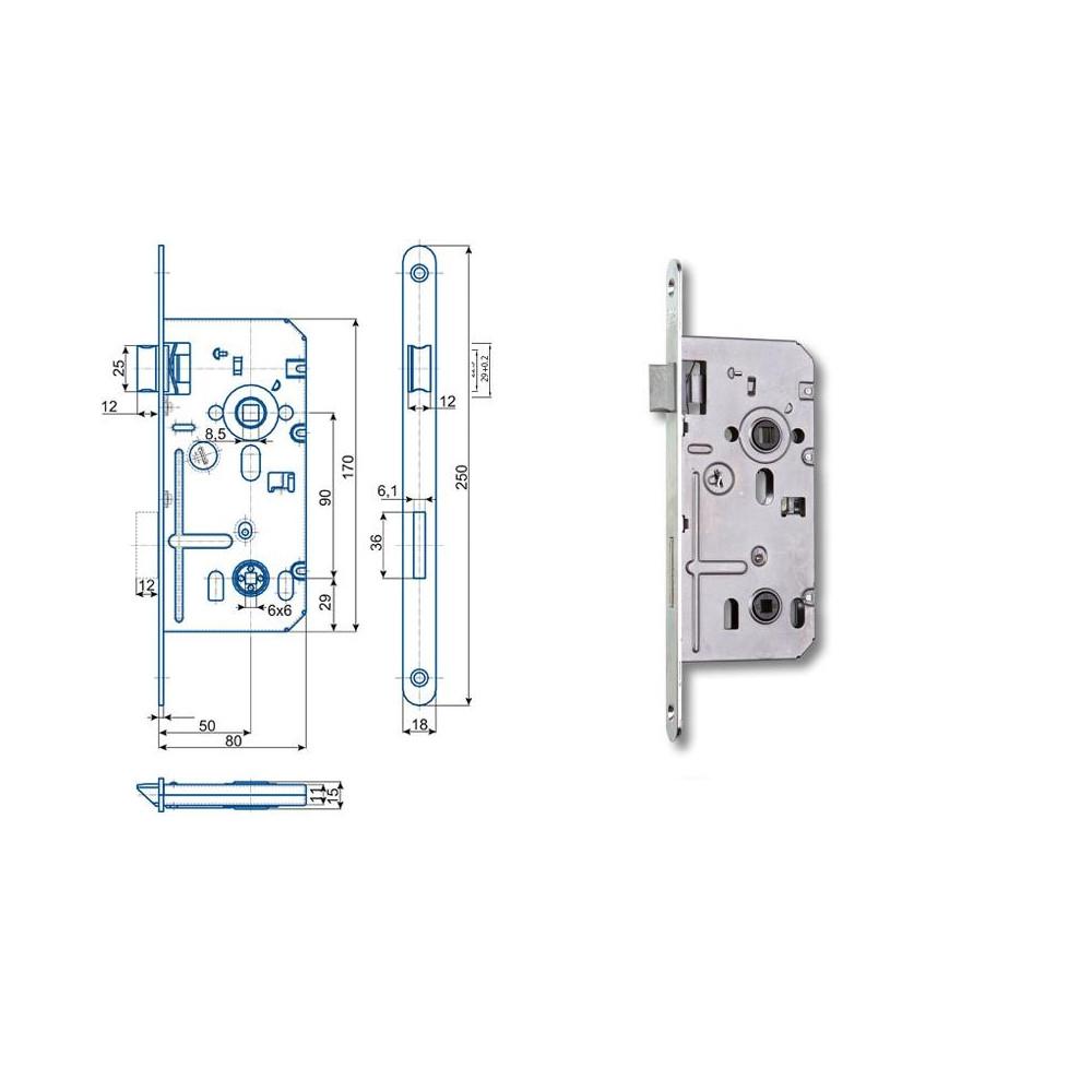 K352 C 80/50/90 WC - P