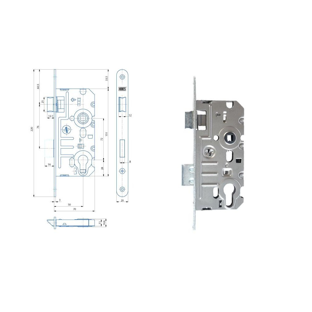 K241 70/50/72 FAB - P