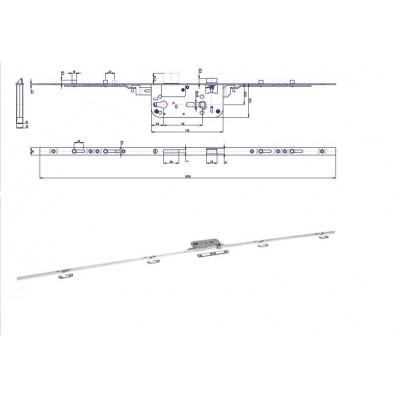 K160 P-L 79,5/49,5/92 FAB 5-bodový