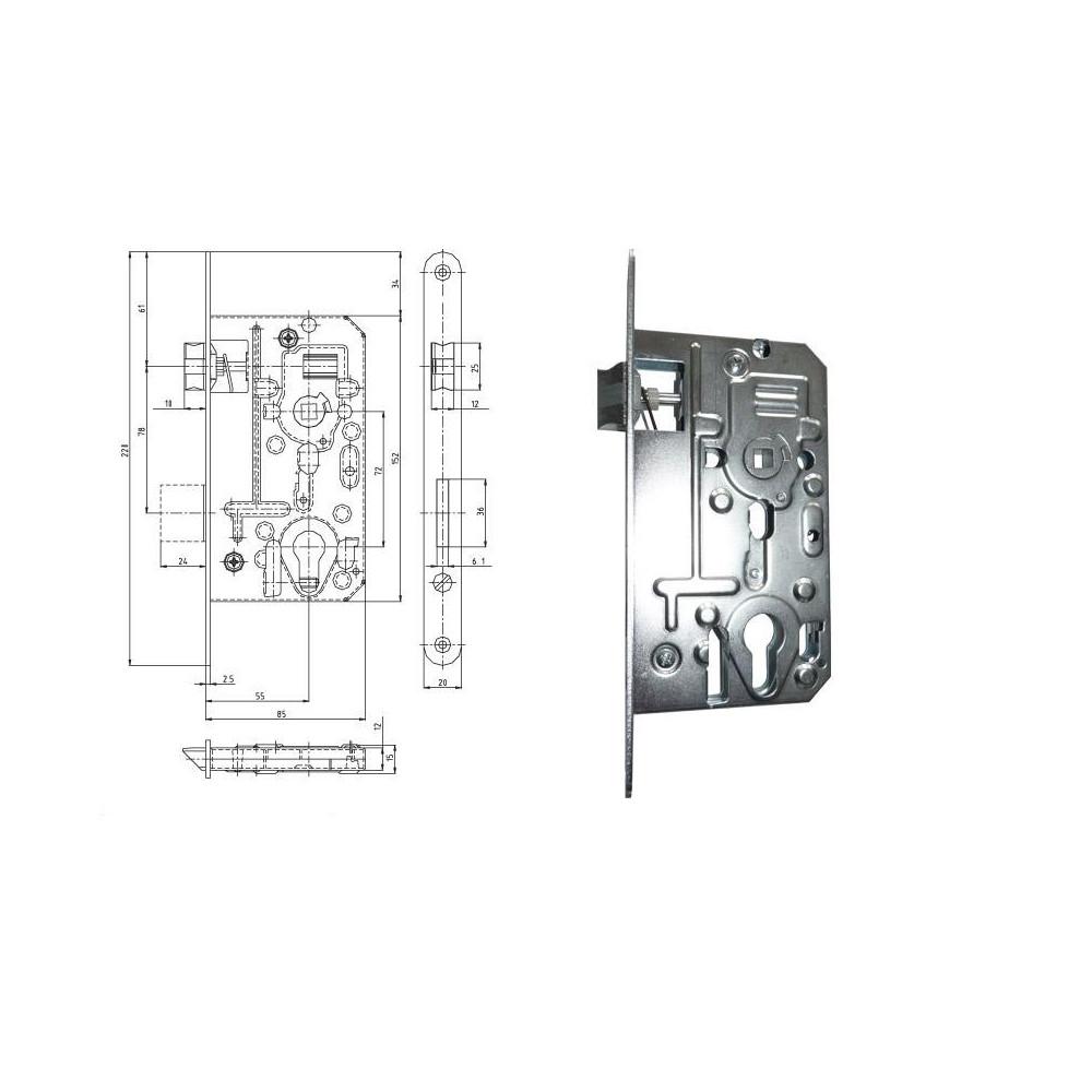 K136S P-L 85/55/72 FAB