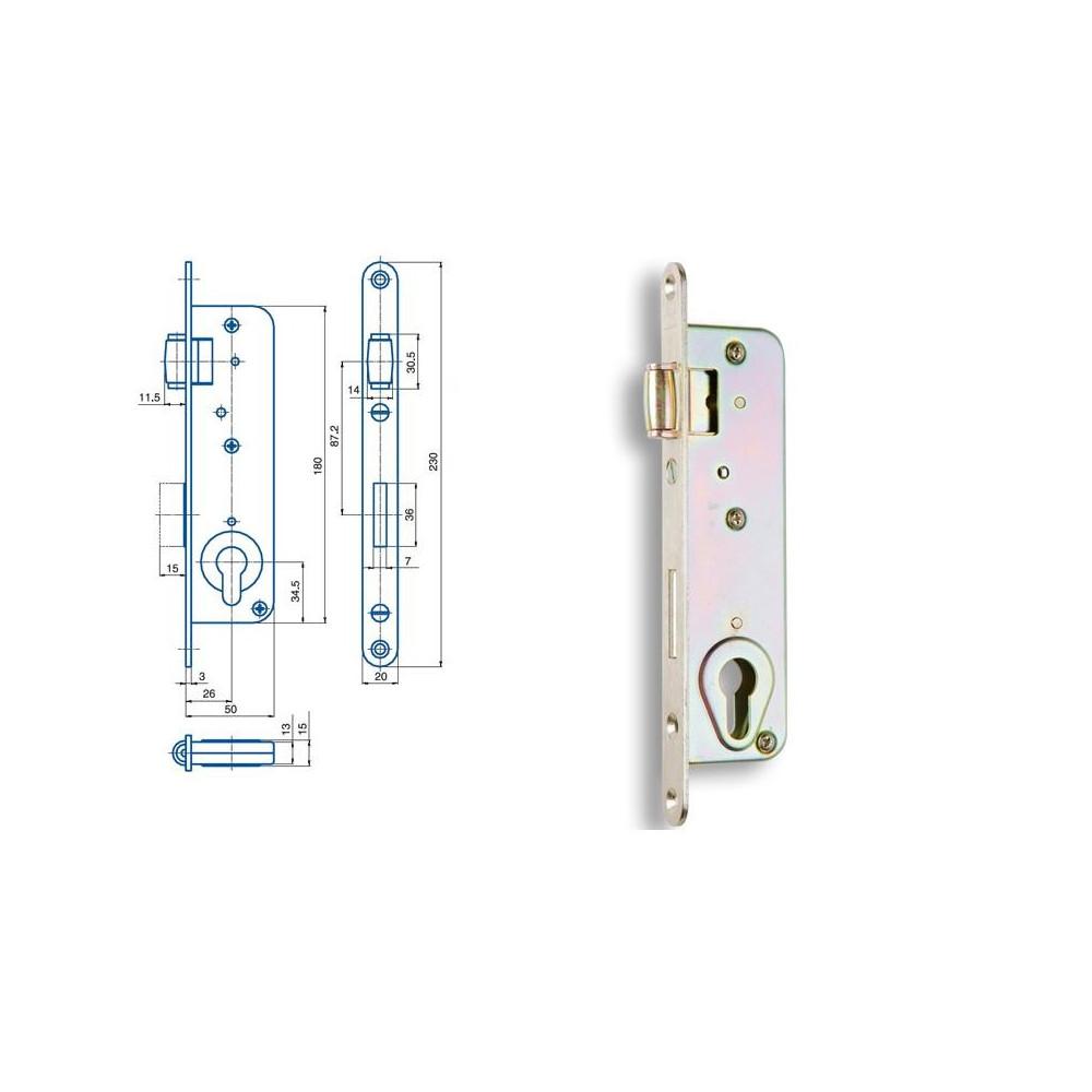 G222 FAB valčekový zámok